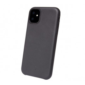 Decoded Leren case iPhone 11 zwart