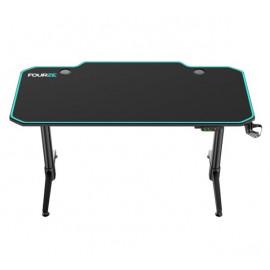 Fourze D1400-E gaming desk groen / zwart