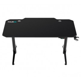 Fourze D1400-E gaming desk zwart
