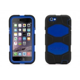 Griffin Survivor hardcase iPhone 7 blauw/zwart