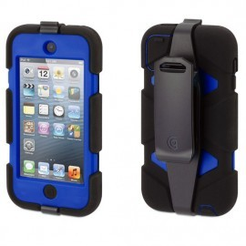 Griffin Survivor hardcase iPod Touch 5/6 blauw/zwart