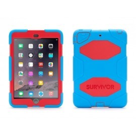 Griffin Survivor hardcase iPad Mini 1/2/3 blauw-rood