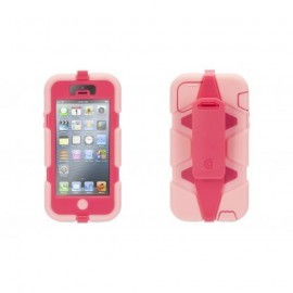 Griffin Survivor All-Terrain hardcase iPhone 5(S)/SE roze