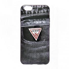 Guess Denim iPhone 6(S) TPU Case Jeans zwart