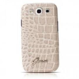 Crocodile Galaxy S3 Hardcase Shiny Beige