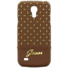 Gianina Galaxy S4 Mini Hardcase Cognac