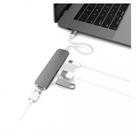 HyperDrive USB-C Adapter HDMI USB 3.1 Space Grey