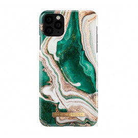 iDeal of Sweden Fashion Back Case iPhone 11 Pro Golden Jade Marble