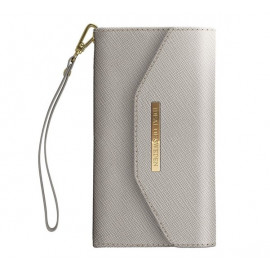 iDeal of Sweden Mayfair Clutch Wallet case iPhone 11 grijs