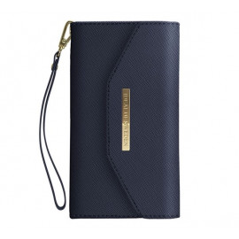 iDeal of Sweden Mayfair Clutch Wallet case iPhone 11 Pro blauw