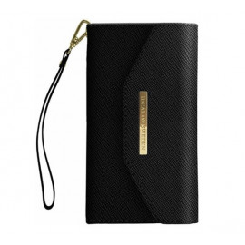 iDeal of Sweden Mayfair Clutch Wallet case iPhone 11 zwart