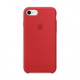 Apple silicone case iPhone 7 / 8 / SE 2020 rood