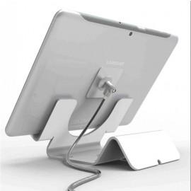 Maclocks tablet beveiligingsstand met 1,8 meter kabel wit
