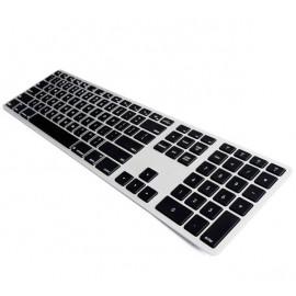 Matias Draadloos Toetsenbord QWERTY met Backlight voor MacBook zwart/zilver