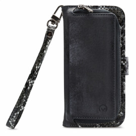 Mobilize 2-in-1 Gelly Wallet Zipper Case Samsung Galaxy A51 zwart / snake