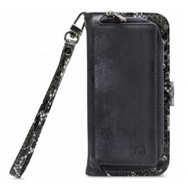 Mobilize 2in1 Gelly Wallet Zipper Case iPhone 12 / iPhone 12 Pro zwart / snake