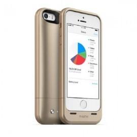 Mophie space Pack 16 GB iPhone 5(S) goud