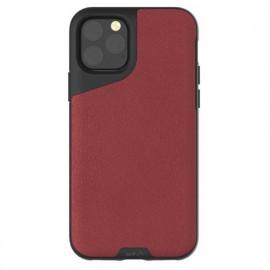 Mous Contour Lederhülle iPhone 11 Pro rot
