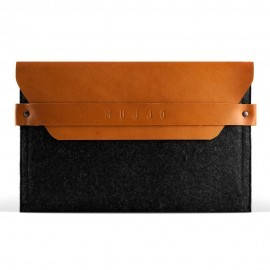 Mujjo Envelope sleeve iPad Mini tan bruin/grijs