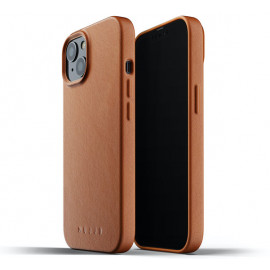 Mujjo Leather Case iPhone 13 bruin