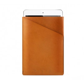 Mujjo Slim Fit Leather Sleeve iPad Mini 1 / 2 / 3 / 4 / 5 Tan