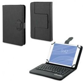 Muvit Universele Keyboard Case zwart 7/8'' (AZERTY)