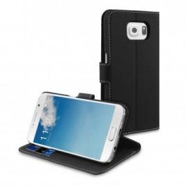 Muvit Wallet Stand Case Galaxy S6 zwart