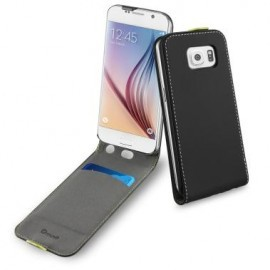 Muvit Wallet Slim Case Galaxy S6 zwart