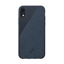 Native Union Clic Canvas case iPhone XR blauw