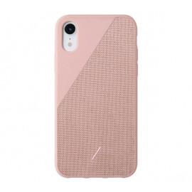 Native Union Clic Canvas case iPhone XR roze