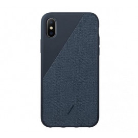 Native Union Clic Canvas case iPhone XS Max blauw