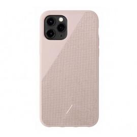 Native Union Clic Canvas case iPhone 11 Pro roze