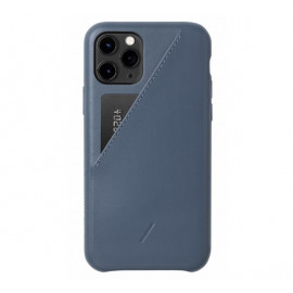 Native Union Clic Card case iPhone 11 Pro blauw