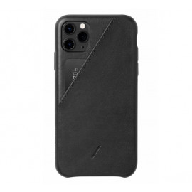 Native Union Clic Card case iPhone 11 Pro zwart