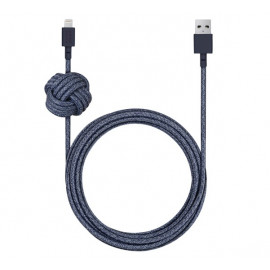 Native Union Kevlar Night Lightning kabel 3m blauw