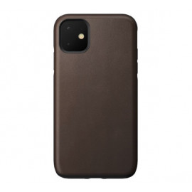 Nomad Rugged Leather Case iPhone 11 bruin