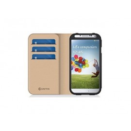 Griffin Midtown Wallet case Galaxy S4 zwart