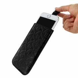 Piel Frama Pull Style Sleeve iPhone 6(S) / 7 zwart