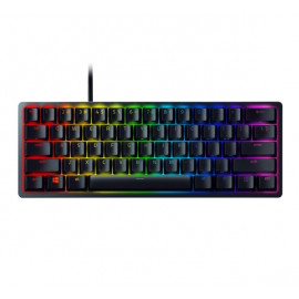 Razer Huntsman Mini gaming keyboard (optisch paars) zwart