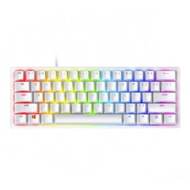 Razer Huntsman Mini gaming keyboard (optisch paars) wit