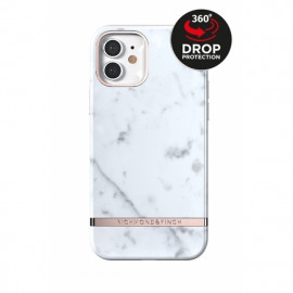 Richmond & Finch Freedom Series iPhone 12 / iPhone 12 Pro White Marble