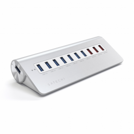 Satechi USB-Hub 10-Port Aluminium