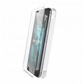 X-Doria Defense 360° voor en achterkant cover met Tempered Glass iPhone 7 / 8 clear