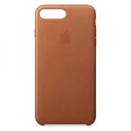 Apple leather case iPhone 7 / 8 brons