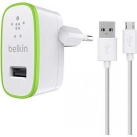 Belkin Universele thuislader 2.4A met Micro USB kabel 1.2m wit