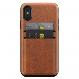 Nomad Wallet Case iPhone X / XS bruin