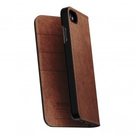 Nomad Leather Folio Case iPhone 7 / 8 bruin