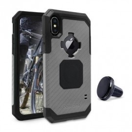 Rokform Rugged case iPhone X / XS gunmetal zwart