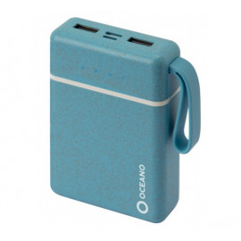 SBS eco-friendly powerbank 10,000 mAh blauw