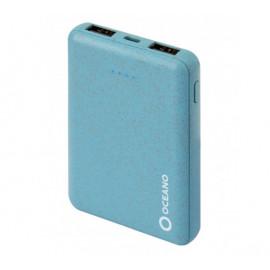 SBS eco-friendly powerbank 5,000 mAh blauw